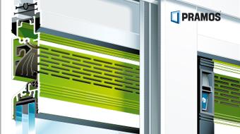Ventilační klapky na skle RENSON