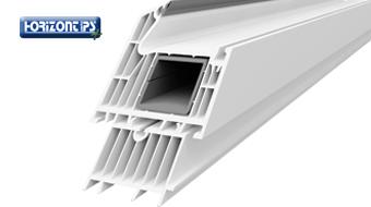 Sieben-Kammer-Lösung für alle konstruktiven Details – Fensterbankanschluss